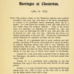 Chesterton Marriages Page 1