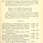 Temple Guiting Marriages Page 1