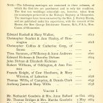 Weston Subedge Marriages Page 1