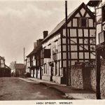 WEOBLEY High Street Herefordshire