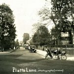 Finchley North London Platts Lane