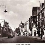 Kings Road Chelsea London SW3 1954