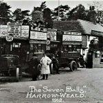 THE SEVEN BALLS PUB HARROW WEALD 1912