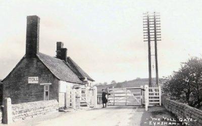 1920s THE TOLL GATE EYNSHAM OXFORDSHIRE