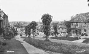 BURFORD HIGH STREET c1930