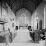 Chancel Clungunford church