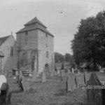 Clun church tower restored