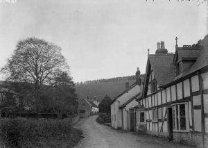 Clunbury village
