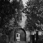 Old gateway Trinity Hospital Clun
