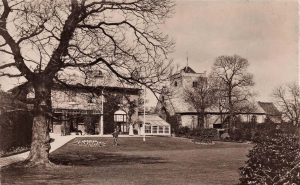 SHROPSHIRE WORTHEN RECTORY AND CHURCH
