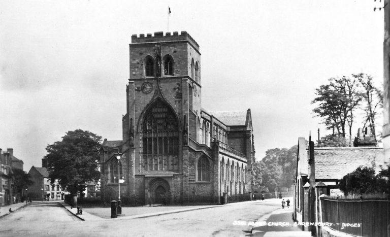 Shrewsbury Holy Cross with St Giles, Shropshire Family History Guide