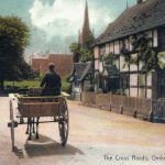 Cross roads Ombersley village nr Droitwich Worcestershire