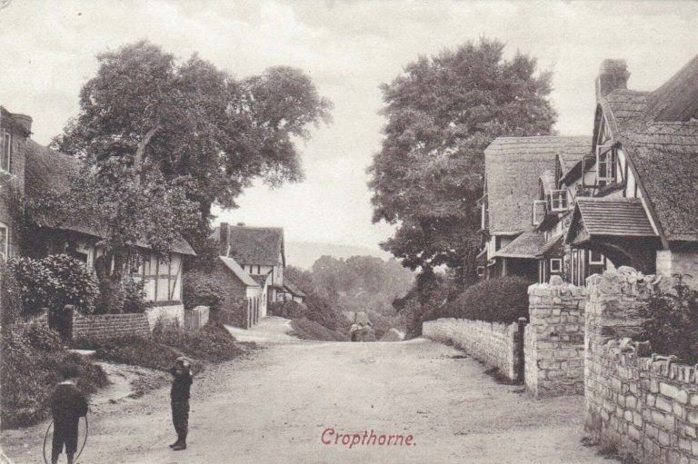 Cropthorne Worcestershire Family History Guide