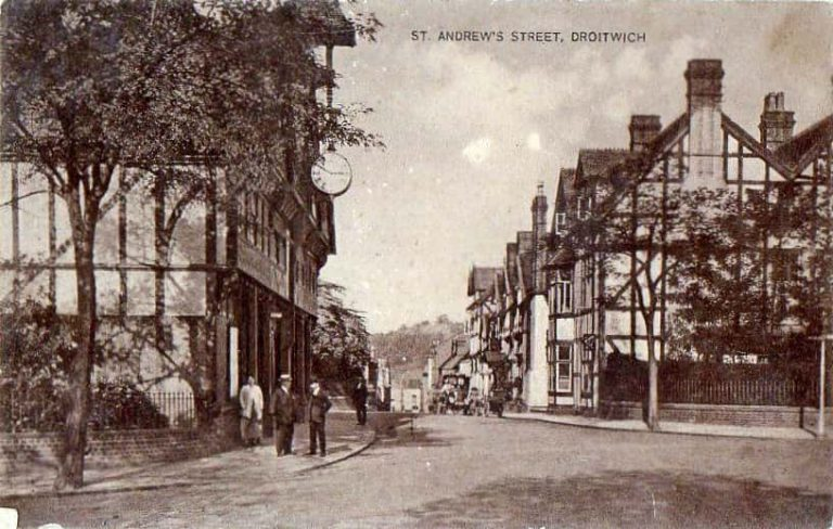 Droitwich St Andrew with St Mary Witton Family History Guide