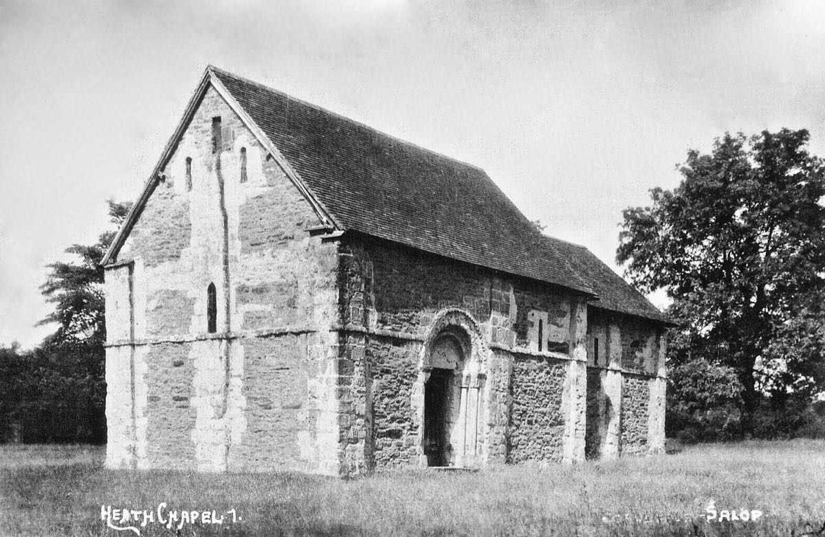 Heath Chapel, Shropshire
