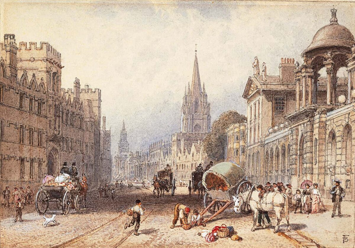 Myles Birket Foster The High Oxford