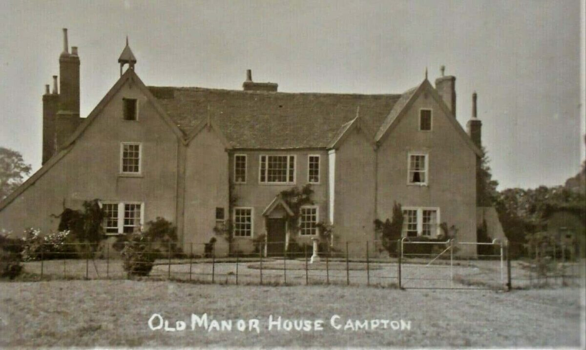 1910 OLD MANOR HOUSE CAMPTON