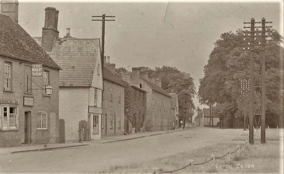 Eaton Socon View Showing The Wheatsheaf, A Trapmore Owner